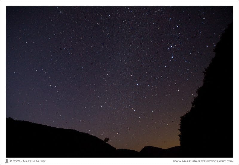 Orion's Sky