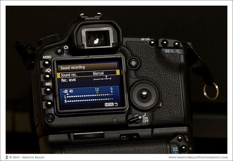 5D Mark II with Firmware 2.0.4