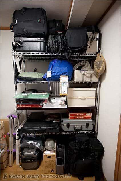 The Bag Rack