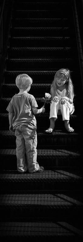 """Meet Me Halfway"" (© Steve Martin)"