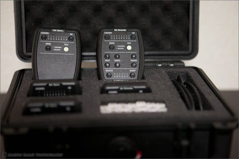 Profoto Air System in Pelican Case