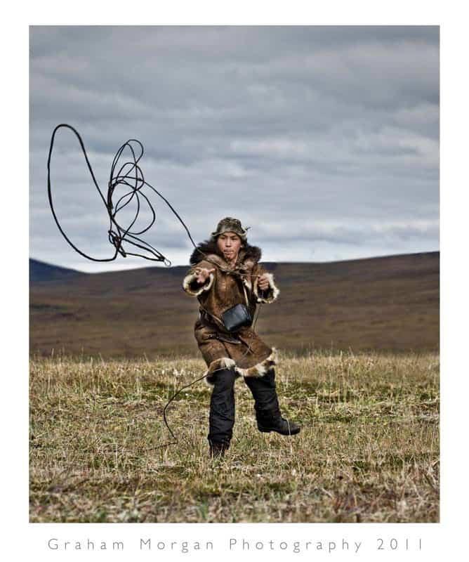 How to catch a reindeer © Graham Morgan