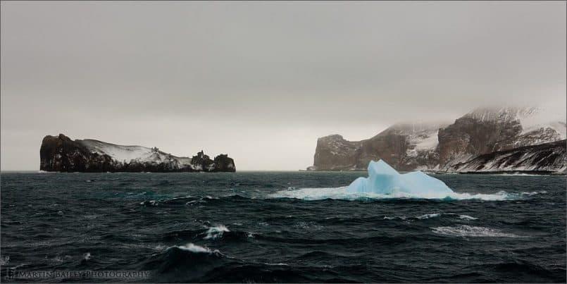 Deception Island Iceberg - Original (Well, blacks were increased in Lightroom)