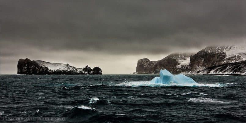 Deception Island Iceberg - Color Efex Pro 4 Version