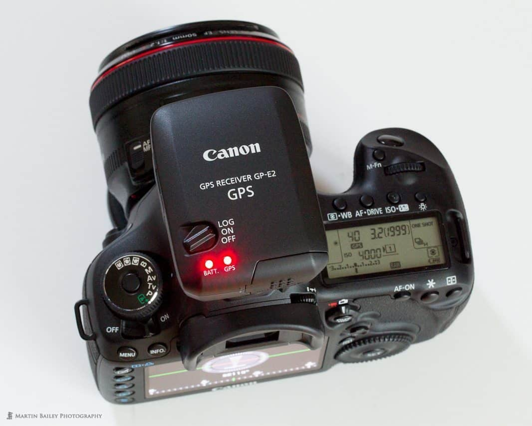 Canon GP-E2 on 5D Mark III