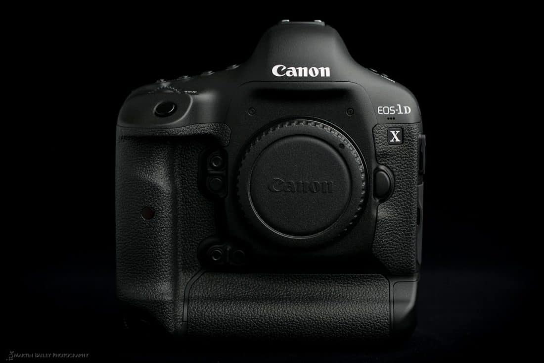 Canon EOS 1D X Front View