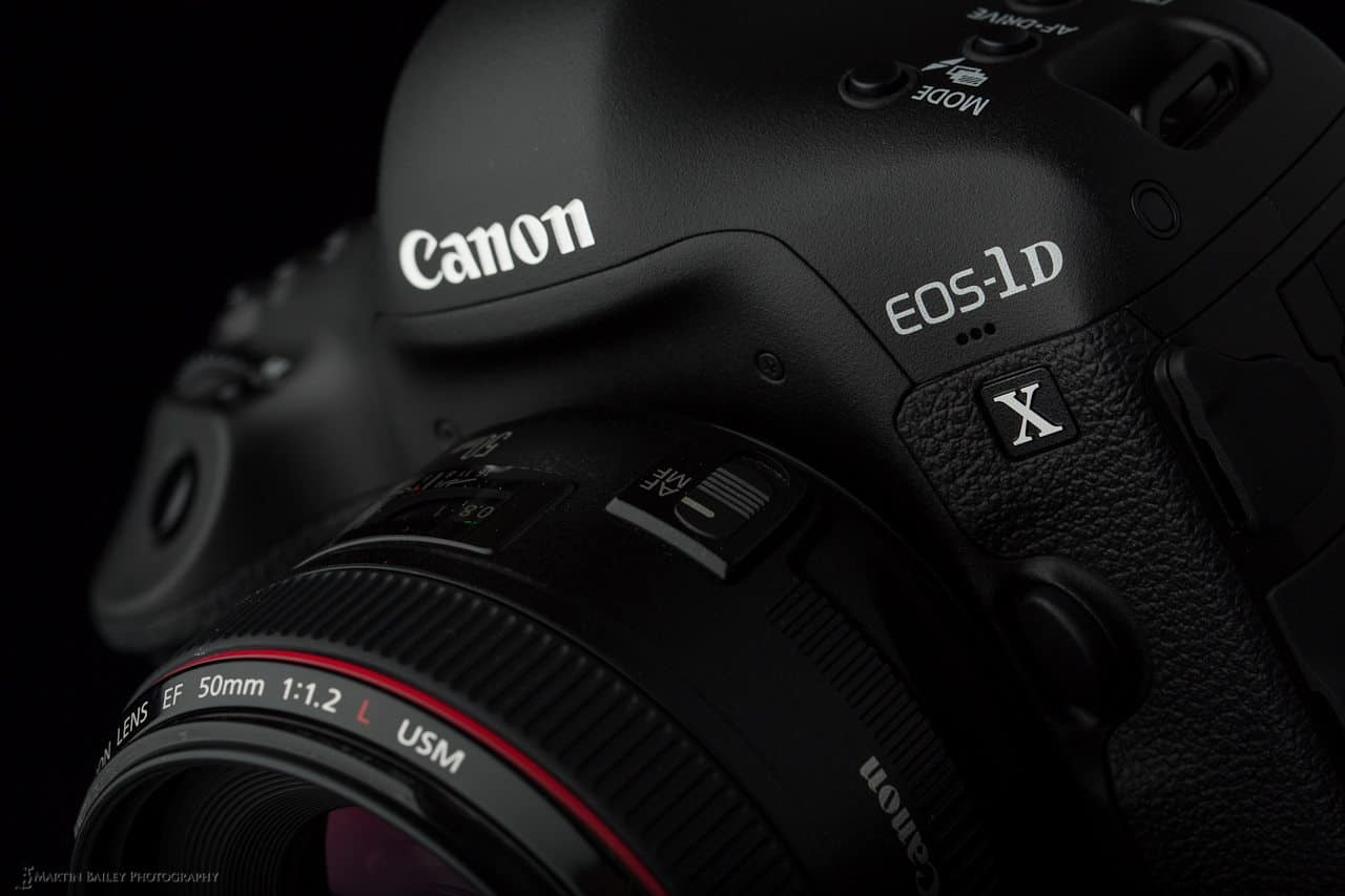 Canon EOS 1D X - Sleek Design