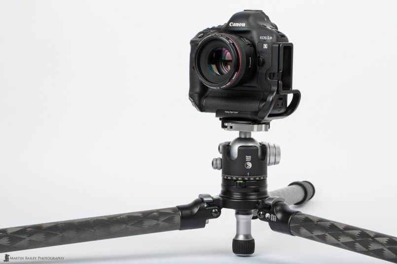 TVC-34L Tripod with Leveling Base at Ground Level