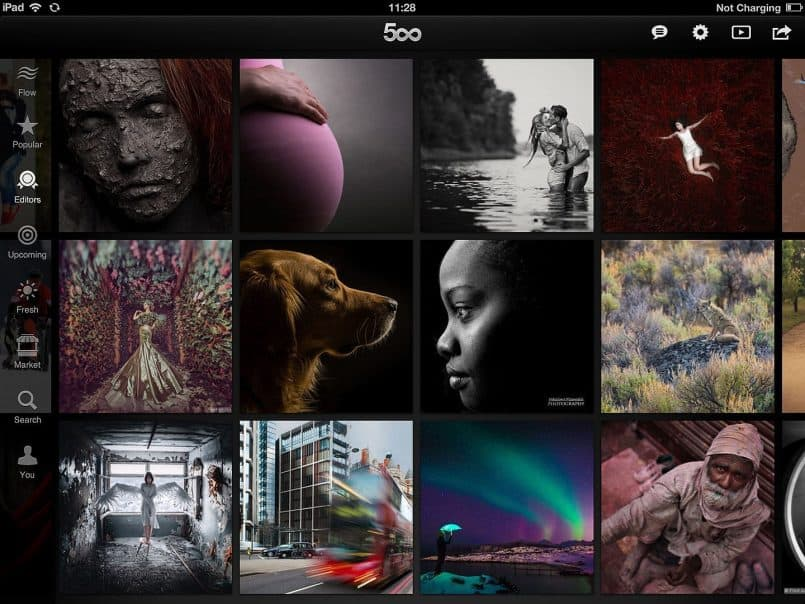 500px for iPad Editor's Choice