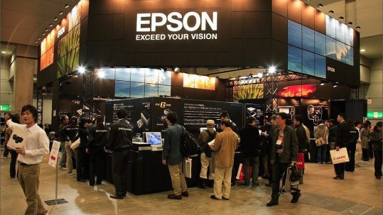 The Epson Stand