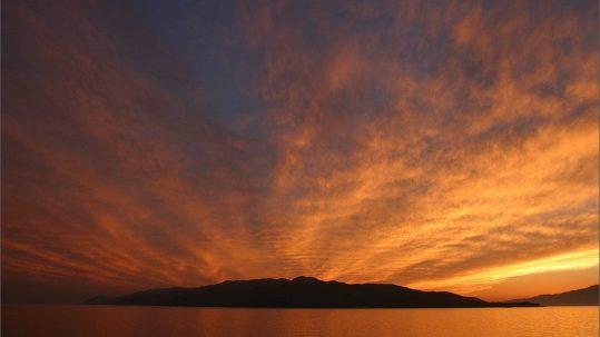 Sado Island Sunset
