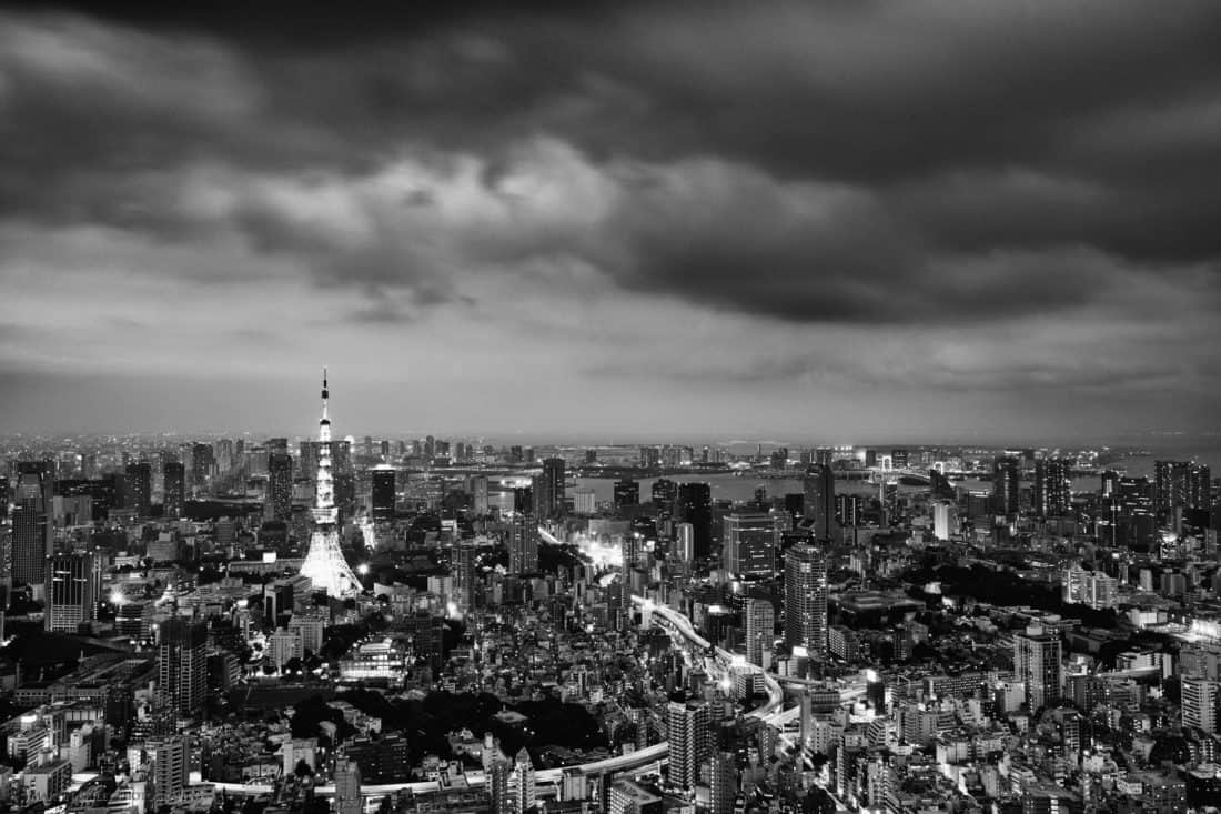 Tokyo Tower from Sky Deck