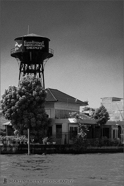 Thonburi Locomotive Water Tower
