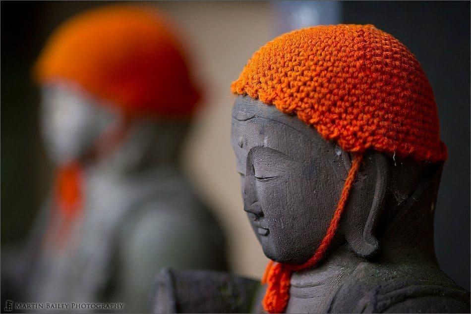 Orange Hat Jizou