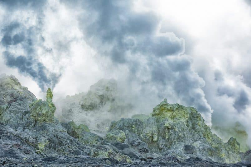 Sulphar Mountain Fumaroles