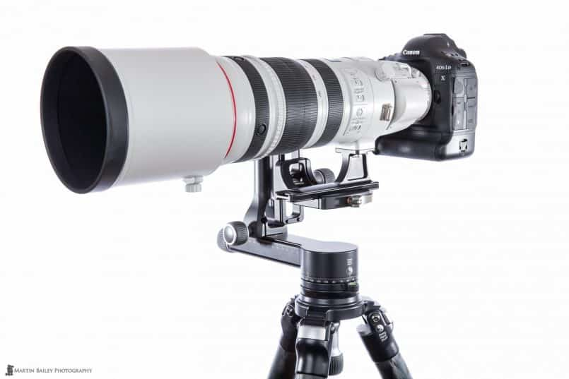 Canon EF 200-400 f/4 L EXT 1.4X Lens with Really Right Stuff Replacement Foot
