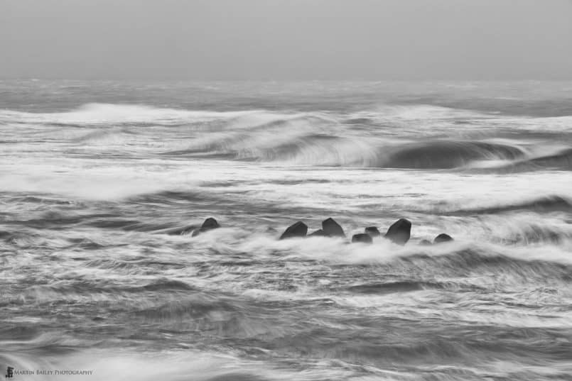Tetrapods in Storm