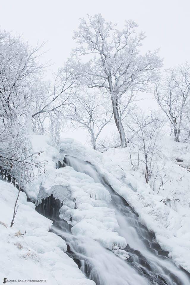White Oshinkoshin Falls
