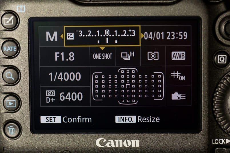 Canon EOS 5Ds R - Custom Quick Control Screen