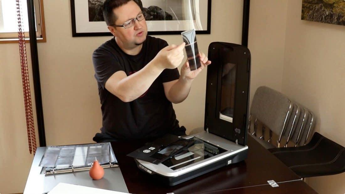 Scanning Film Video Screenshot