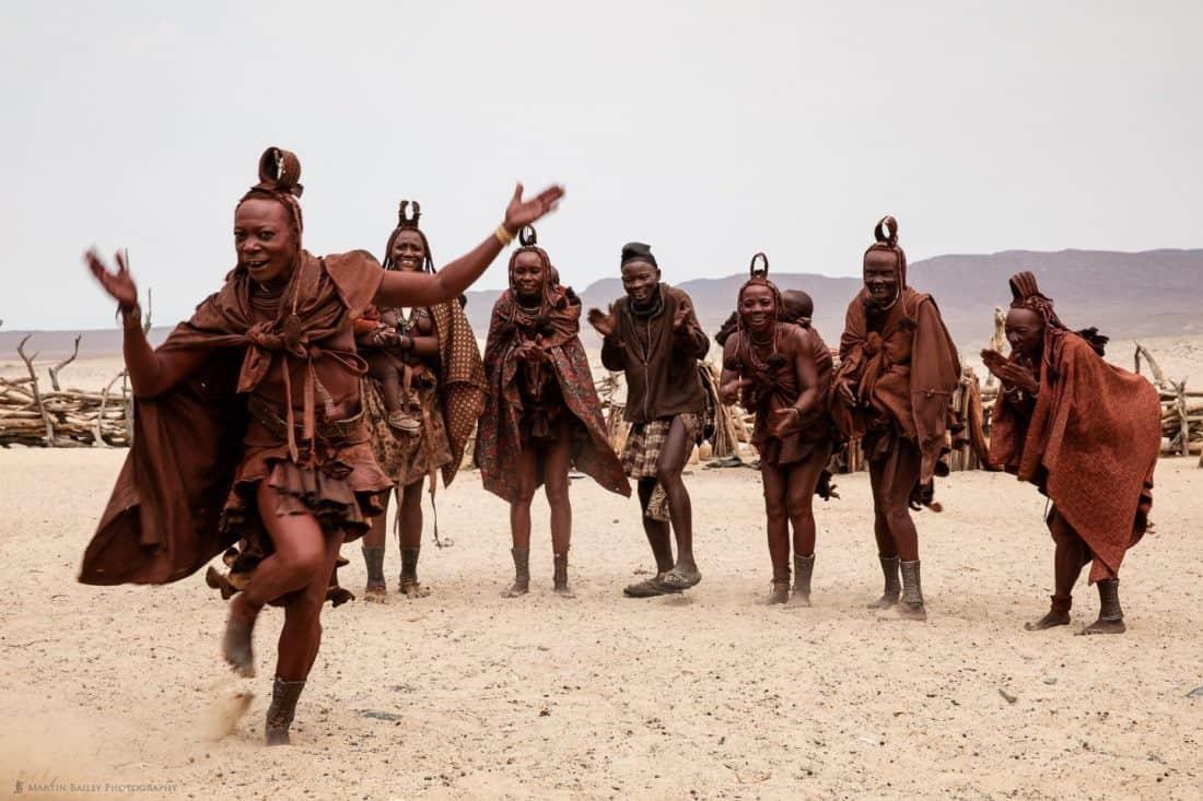 Himba People Dancing