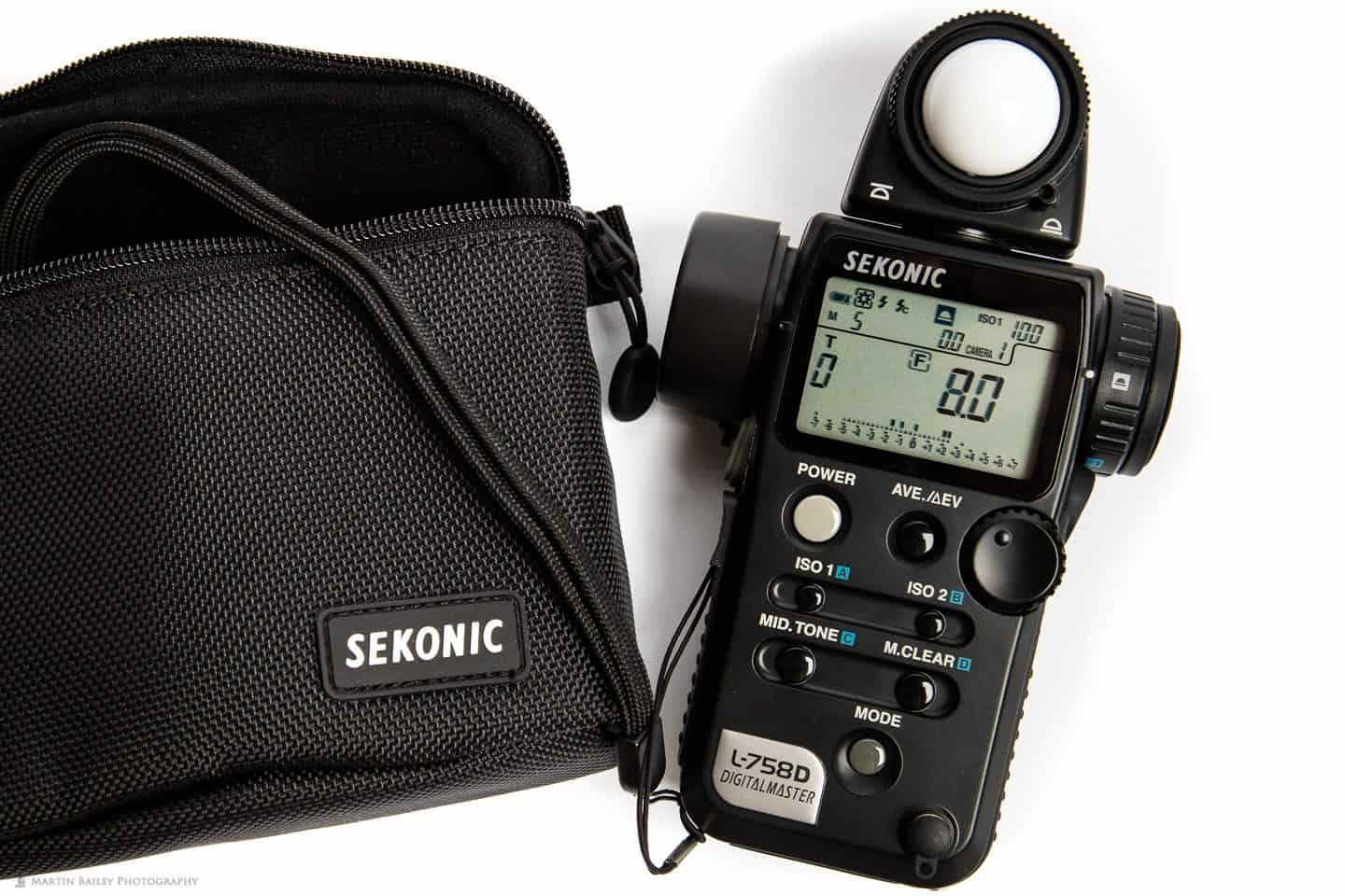SEKONIC L-758 CINE DIGITALMASTER LIGHT METER | Panny Hire