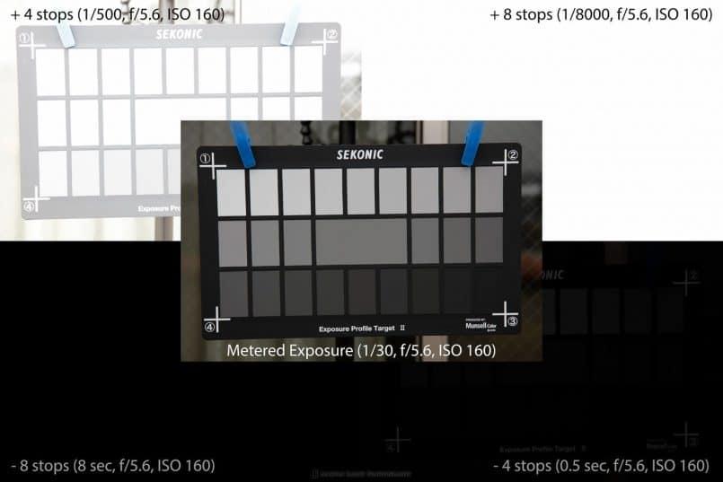 Five Sekonic L-758D Light Meter Profile Shots
