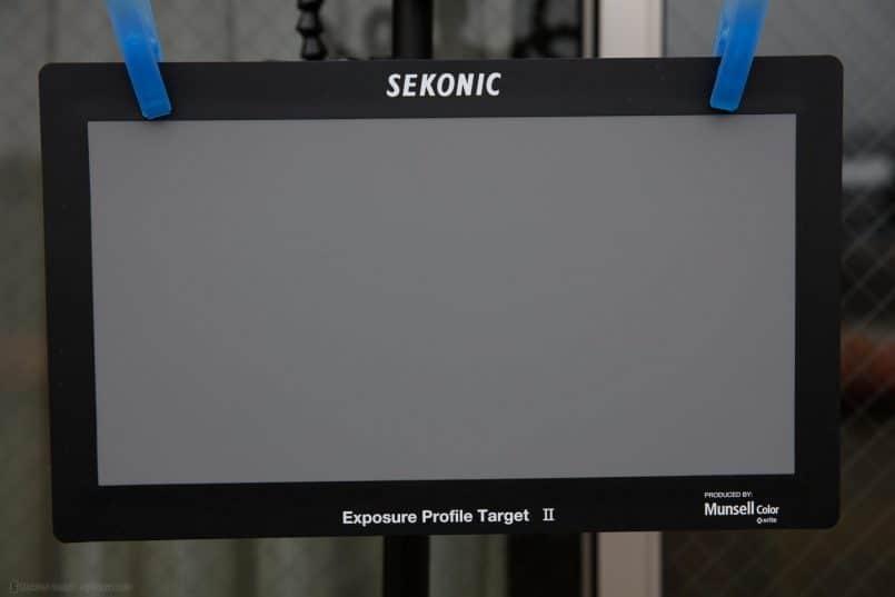 Sekonic Exposure Profile Target II Gray Card