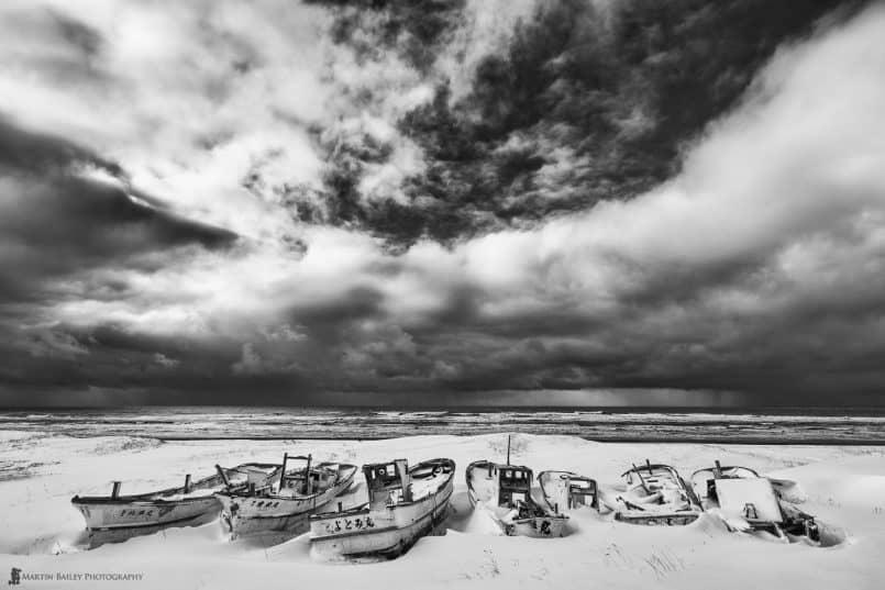Boat Graveyard #2 - Silver Efex Pro