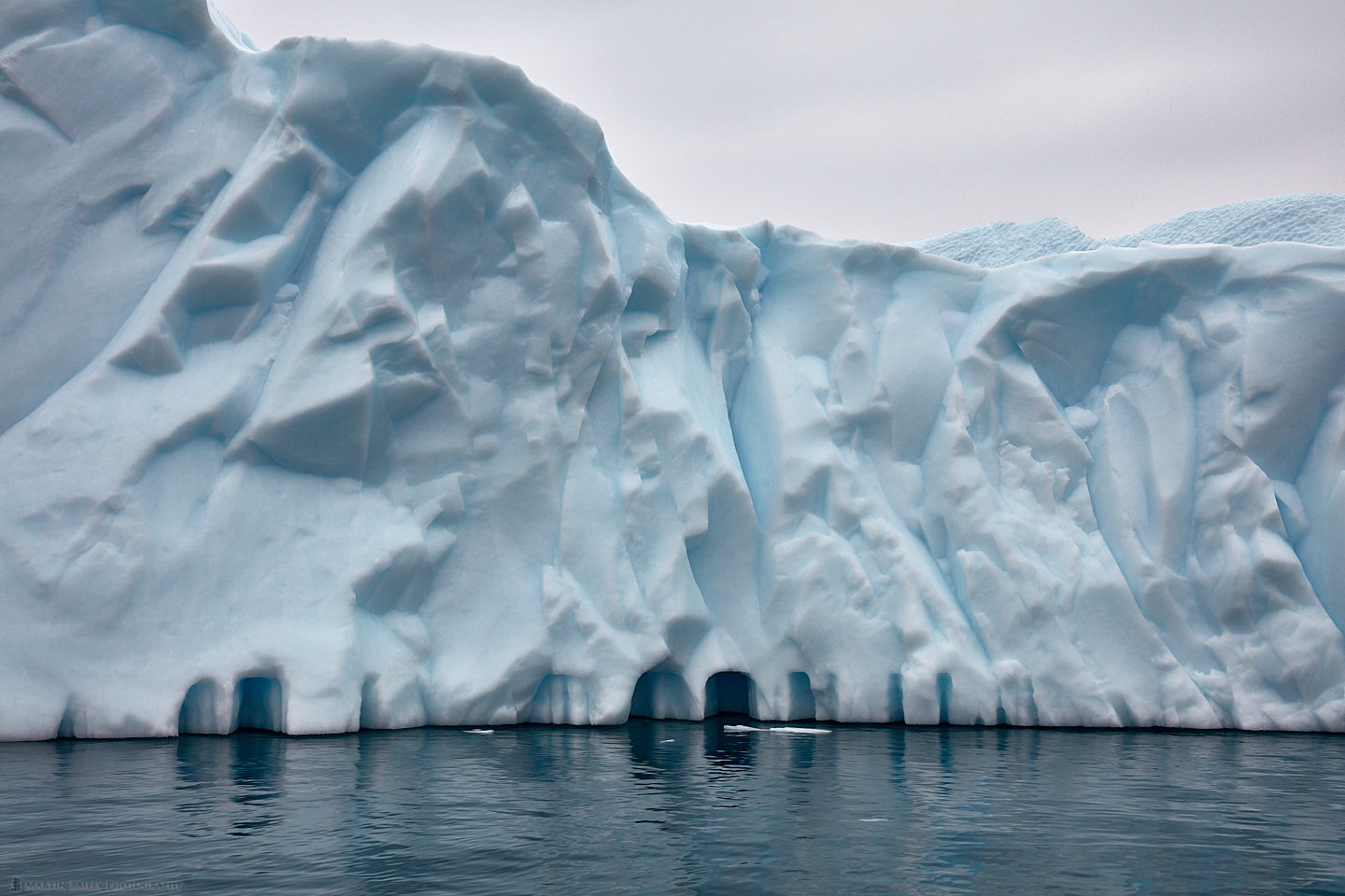 Small Archways in Iceberg