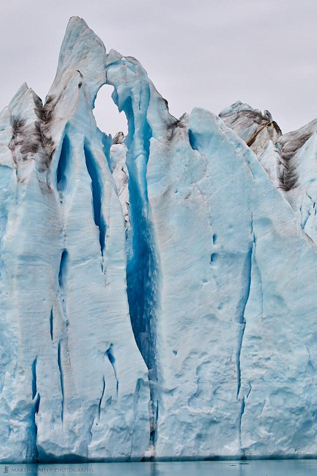 Ice Fissure - Knud Rasmussen Glacier