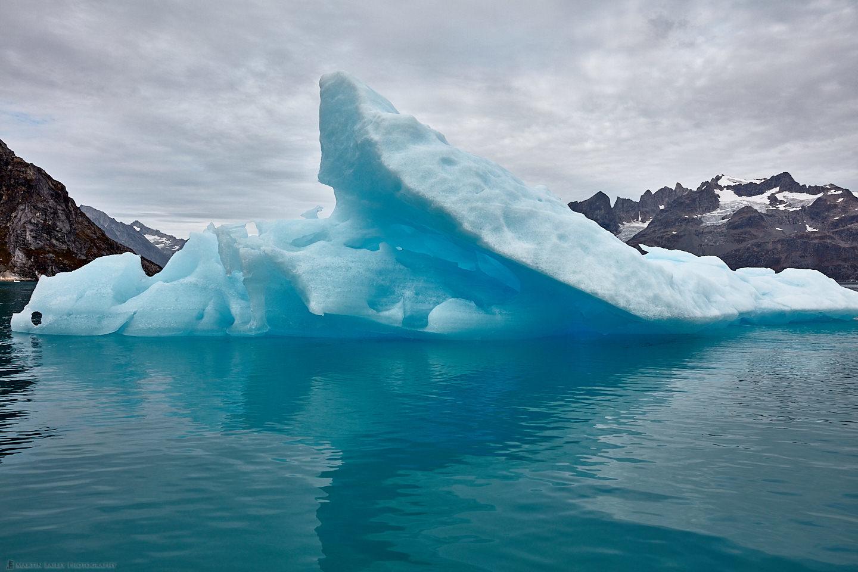 Iceberg on the Sermiligaaq Fjord