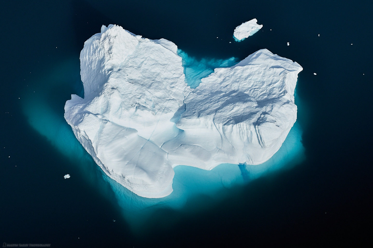 Iceberg from Above