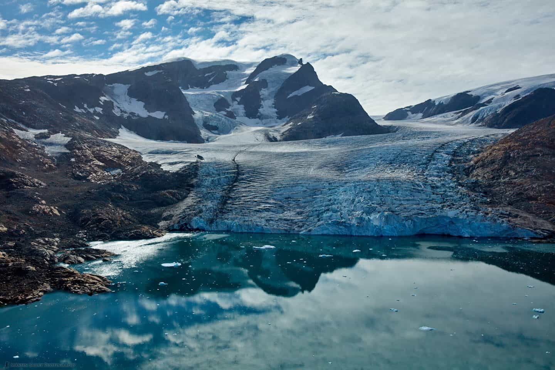 The Hann Glacier