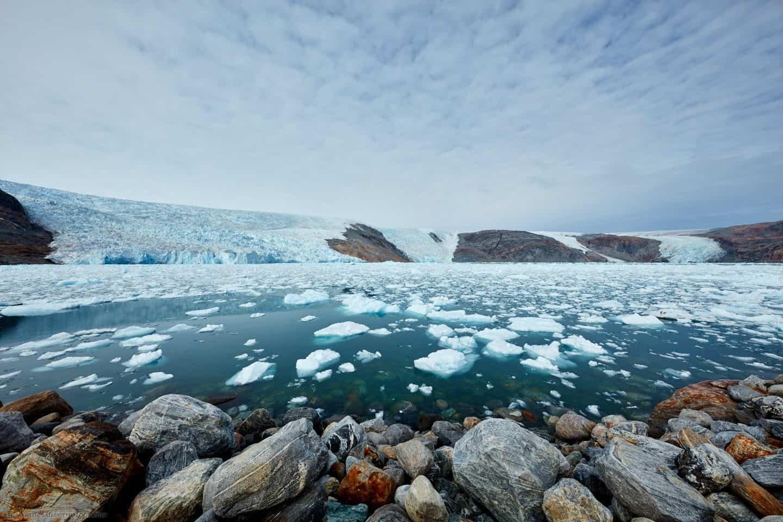 The Heim and Kagtilerscorpia Glaciers