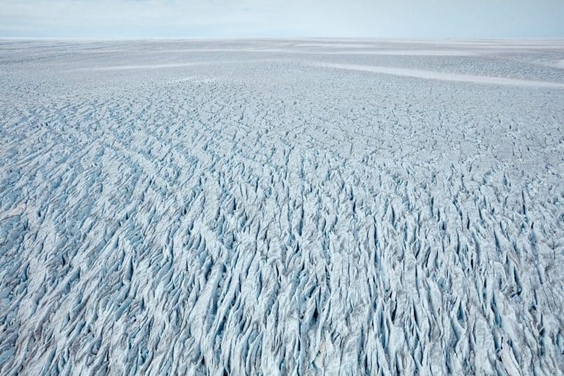 The Greenland Main Glacial Shelf