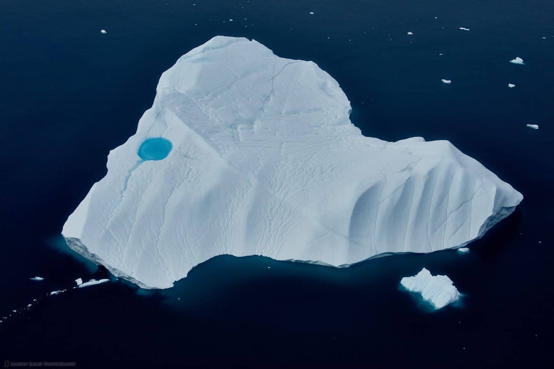 Iceberg with Blue Pool