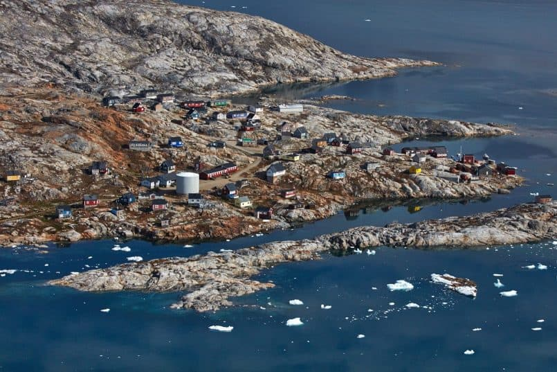 Tiilerilaaq from the Air - East Greenland