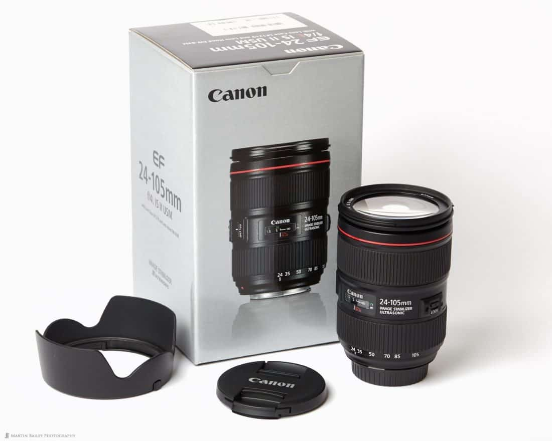 Canon EF24-105mm F4 IS II USM Lens