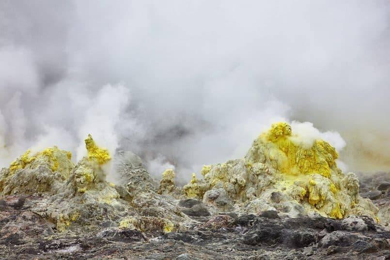 Sulphur Mountain Fumaroles