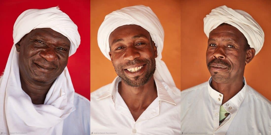 Three Moroccan Musicians