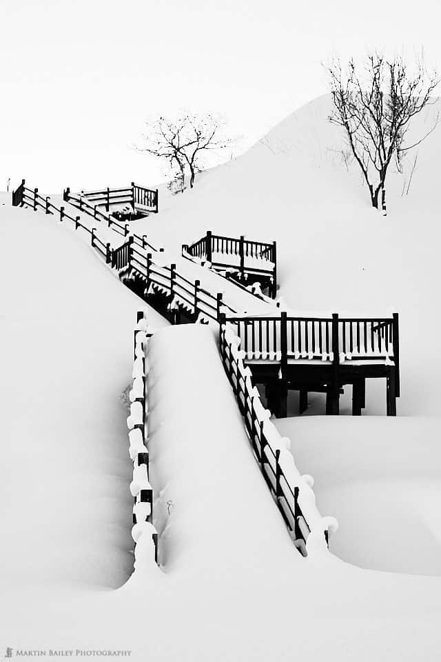 Wintry Stairs