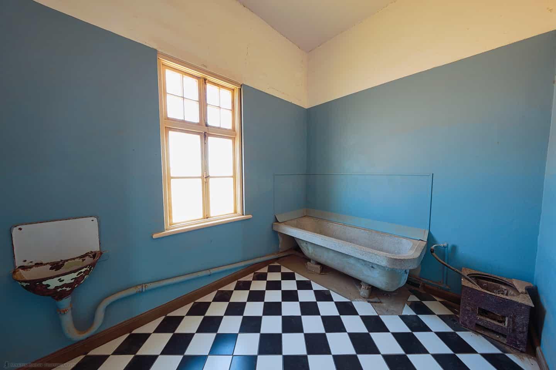 Kolmanskop Accountant's Bathroom