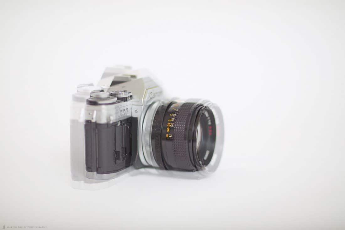 85mm Minimum Focus Distance (f/1.2 Opaque - f/1.4 Transparent)