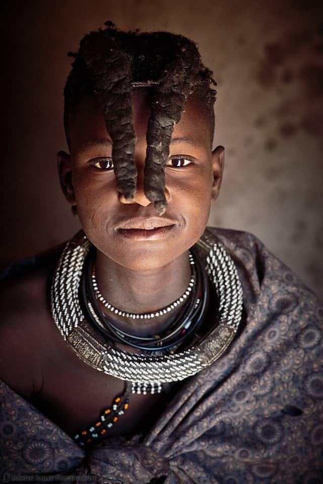 Himba Young Girl in Shawl