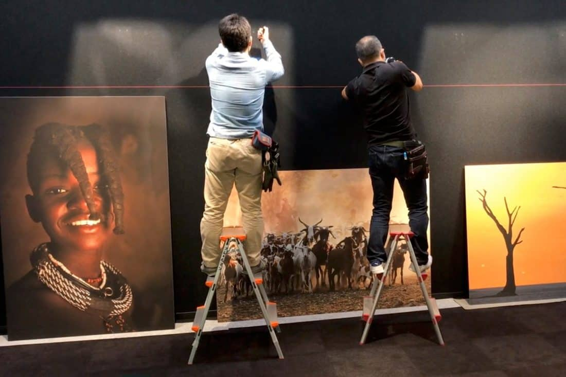 Canon HQ Exhibition Video Screenshot