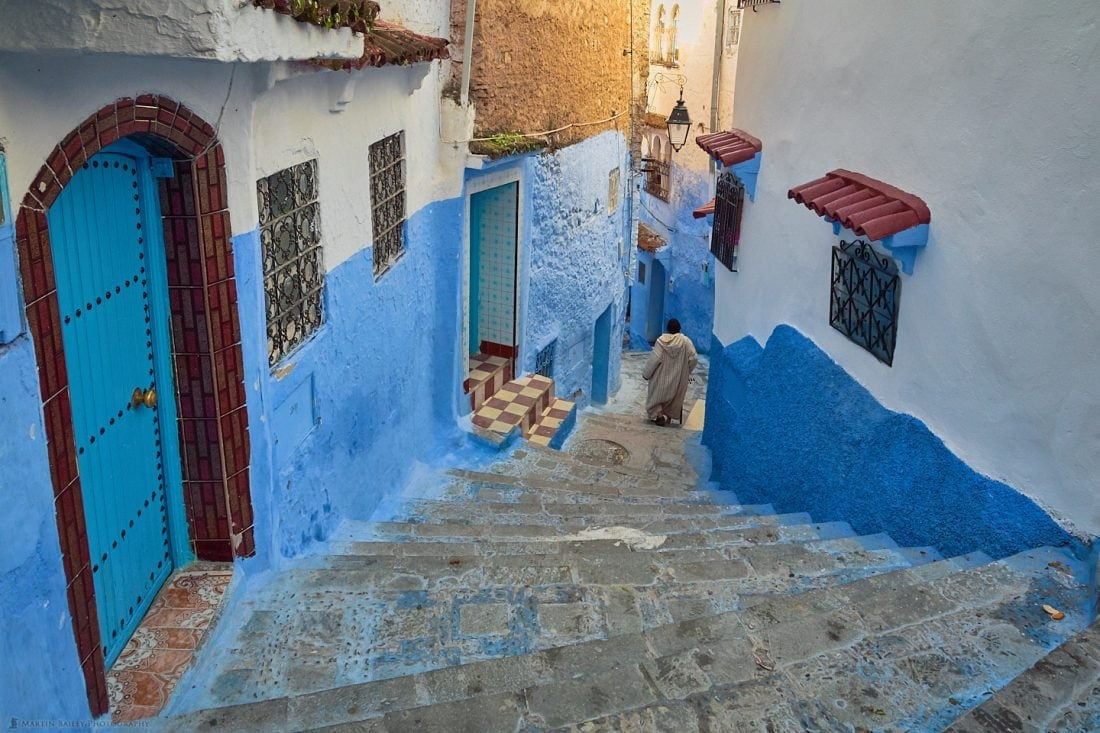 Winding Steps of Chefchaouen