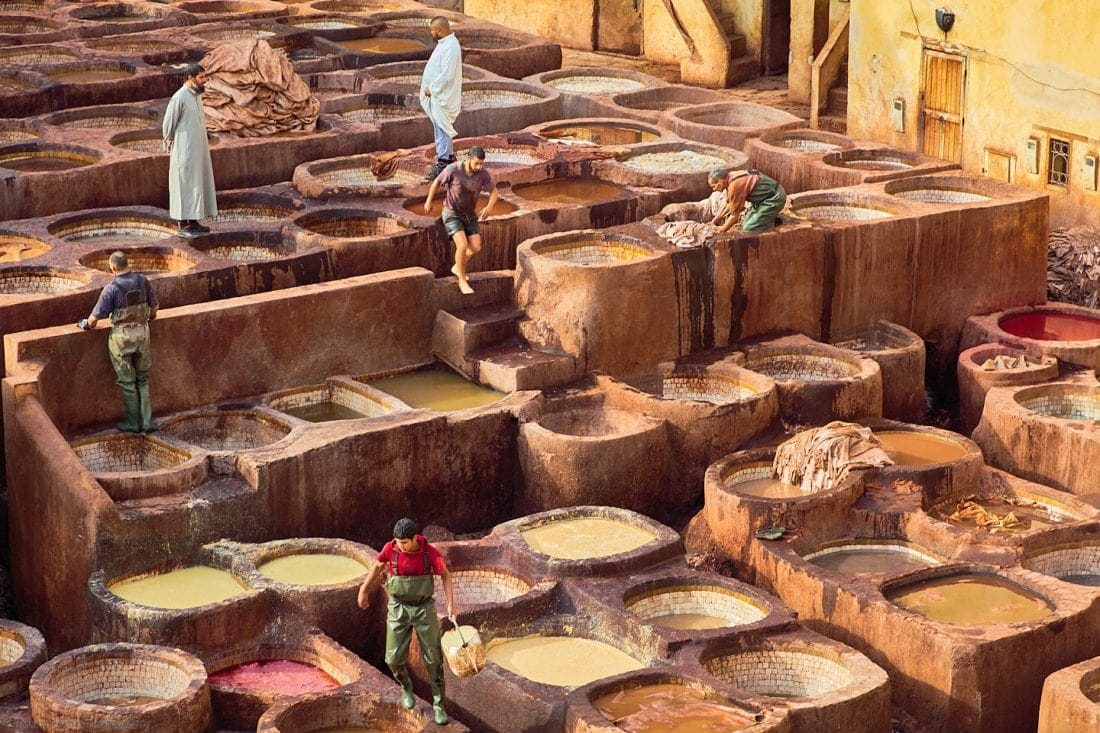 Overseeing the Tannery Workers