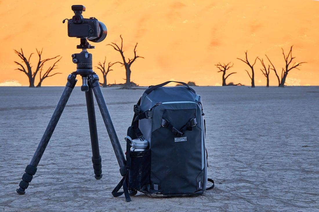 MindShift PhotoCross 15 Backpack in Deadvlei Namibia