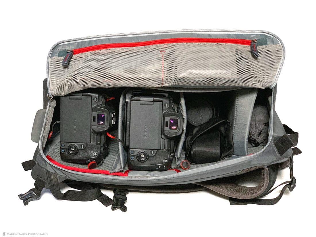 MindShift PhotoCross 15 Backpack Shooting Mode